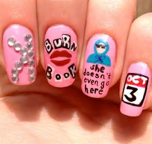 category mean girls nail art all dem nails