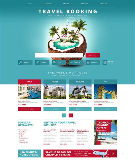 travel booking template best premium travel agency templates top free themes for