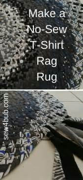 rag rug tutorial no sew best 25 t shirt rugs ideas on