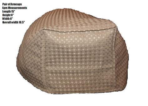 arm caps covers for chairs and settees pair of beige waffle arm caps covers for chairs settees