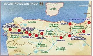 el camino de santiago pilgrimage the way to the of