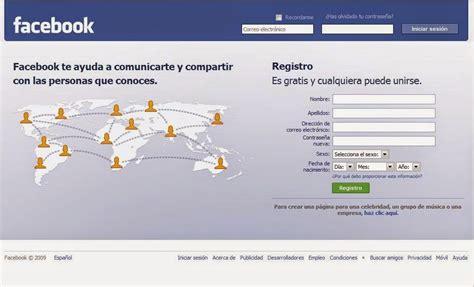 Facebook En Espanol Registrarse | facebook en espa 241 ol inicio entrar registrarse