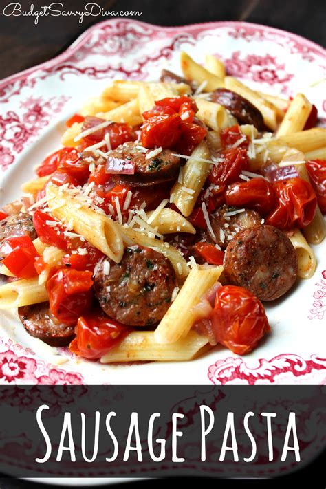pasta sausage top 25 gluten free recipes budget savvy diva
