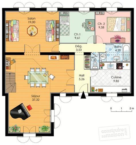 Maison Familiale Plan by Maison Familiale 1 D 233 Du Plan De Maison Familiale 1