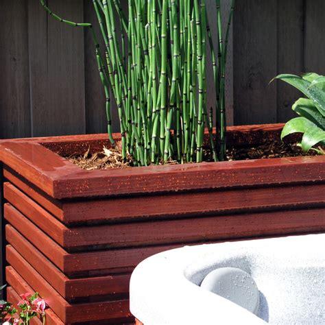 Modern Wood Planter by Modern Wood Planter