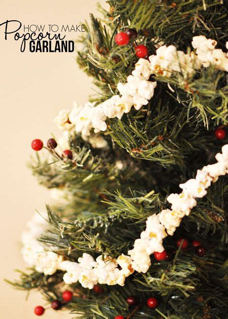 17 best ideas about popcorn garland on pinterest rustic