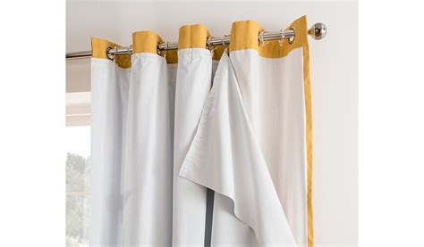 blackout lining curtains blackout curtain lining white home garden george