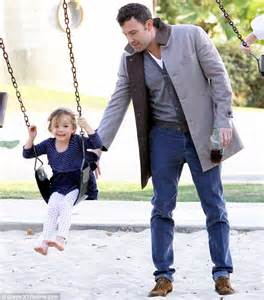 moms swing ben affleck treats daughters violet and seraphina to hot