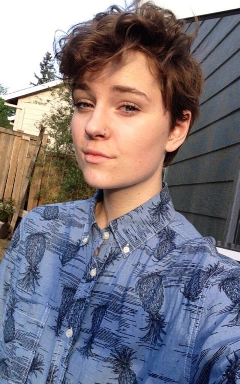 tomboy hairstyle 35 androgynous gay and lesbian haircuts with modern edge