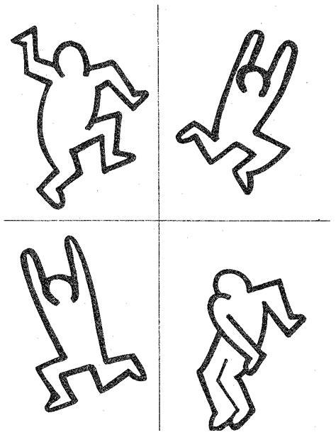 keith haring figure templates keith haring figures raising arizona magazine