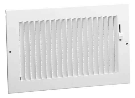 A682 White hart cooley residential a682 sidewall ceiling register