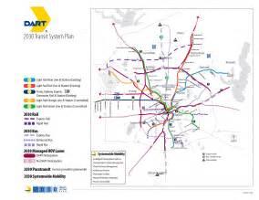 Dart Route Map by Dart Org Dart Transit System Plan Map