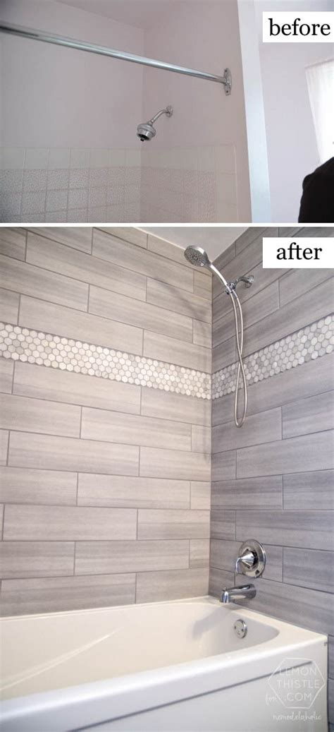 bathroom tile ideas on a budget before and after makeovers 20 most beautiful bathroom