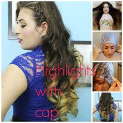 highlights at home highlights at home with frosting cap