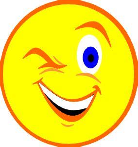 winking face clipart free download best winking face free wink clipart