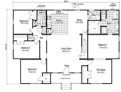 homestead floor plans homestead v712 2274 square foot ranch floor plan
