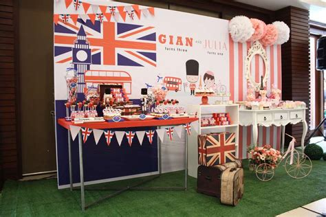 london themed events paris london theme birthday party ideas photo 11 of 11