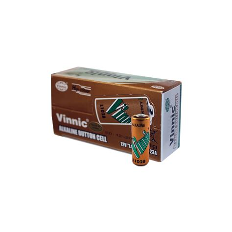 vinnic 50ct l1028 alkaline 12v batteries mn21 a23 lrvo8