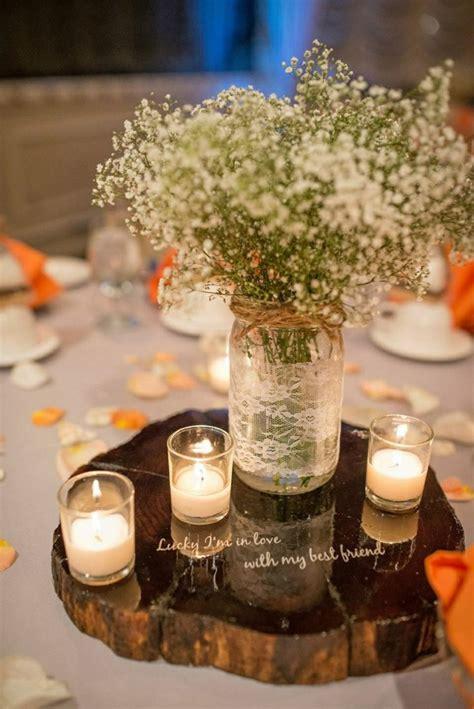 Hochzeit Tischdeko Holz by Herbst Tischdeko Mit Blumen 20 Romantische Hochzeit Ideen