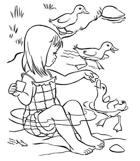 feeding ducks coloring page 1000 images about coloring pages on pinterest princess