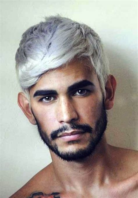 enhance gray hair highlights pictures for mens white hair colors white hair and hair color ideas on