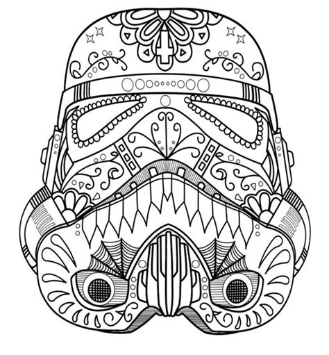 star wars helmet coloring pages coloring pages