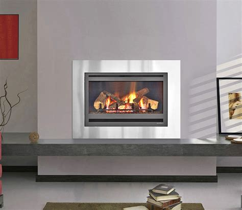Heat And Glow Fireplaces by Supreme I30 Gas Log Fires Melbournes Woodheating Centre
