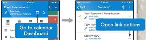 Open Calendar App Access Teamup Calendar In A Mobile Browser