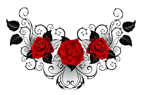 rose and thorn tattoo meaning drawings of flower designs