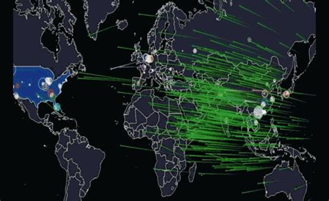 time cybersecurity hacking the web and you books maps show cyber attacks in realtime matthew aid