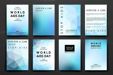 world aids day flyer templates 187 designtube creative