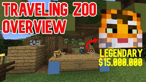 traveling zoo event works hypixel skyblock youtube