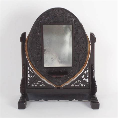 Antique 3 Mirror Vanity by 19th Century Antique Turtle Shell Vanity Mirror