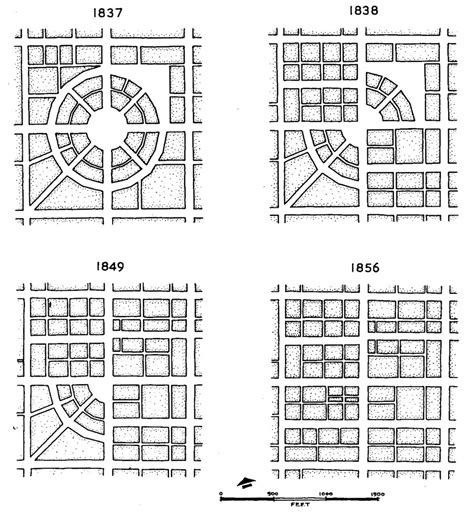 grid pattern planned city in india 4 1 3 1 the circular radial model quadralectic architecture