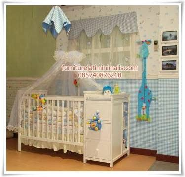 Tempat Tidur Bayi Baby Scots tempat bayi tidur tempat tidur bayi tempat tidur baby furniture jati minimalis furniture