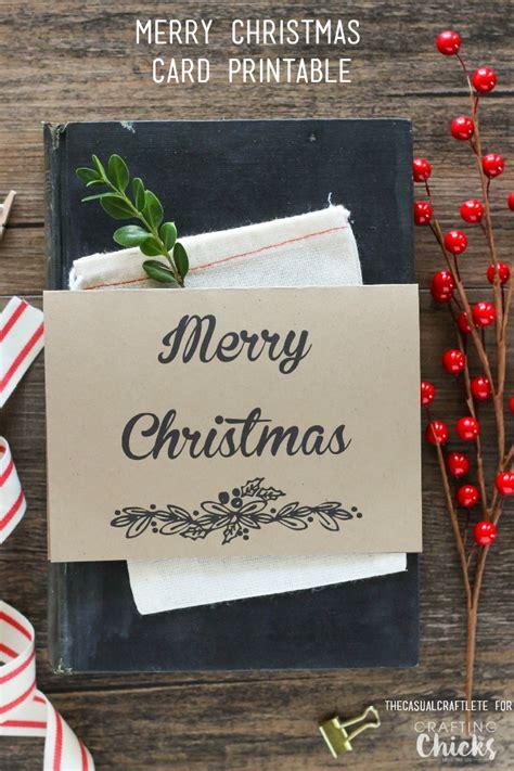 free printable christmas cards pinterest free merry christmas card printable
