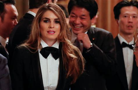 hope hicks job history how 29 year old hope hicks became the youngest white house