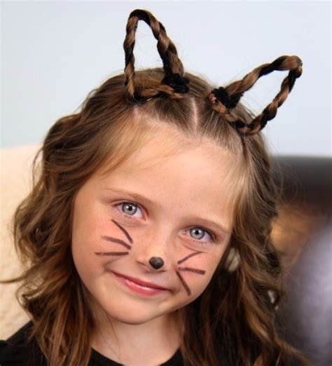 halloween hairstyles for thin hair five easy halloween hairstyles for girls