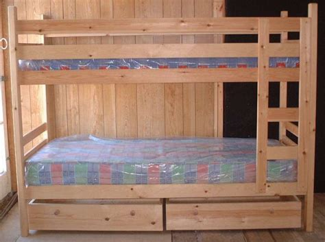 Narrow Bunk Beds | narrow pine bunk beds 76cm 2 6 quot mattress size can be made in shorter lengths ebay