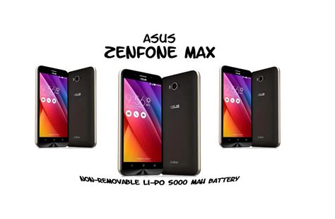 Battery Asus Zenfone Max asus zenfone max now available in india with 5000mah battery