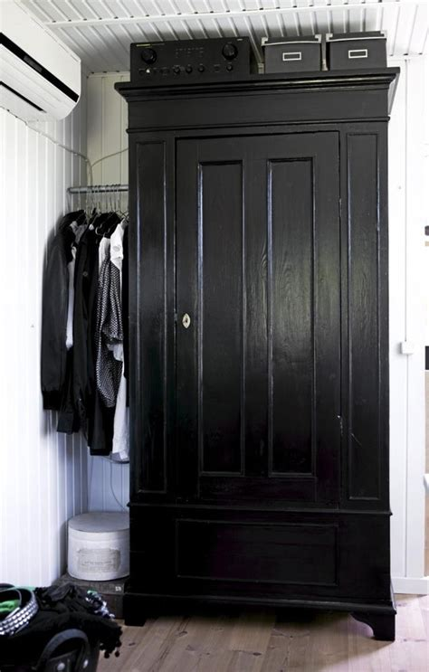 black painted wardrobe painted furniture
