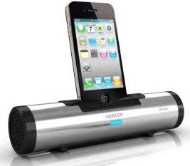 azatom iflute ipod iphone docking speaker silver
