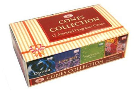 Incense Cone Assorted darshan incense cone collection assorted fragrances 12