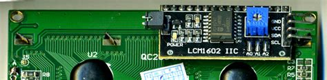 section 12c arduino info lcd blue i2c