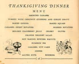 thanksgiving menue a thanksgiving menu from the hartman center the devil s tale