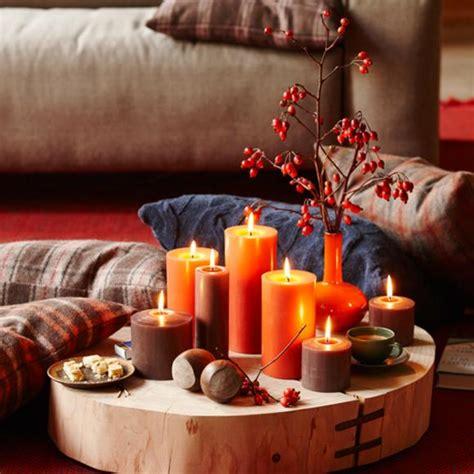 Wohnung Herbstlich Dekorieren by Warmes Licht Mit Kerzen Bild 36 Living At Home