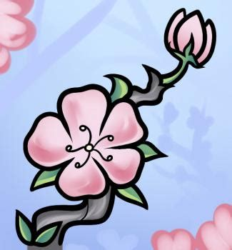 Easy To Draw Japanese Flowers by How To Draw How To Draw A Cherry Blossom For