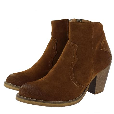 western womens boots marta jonsson womens western ankle boot 6719s s
