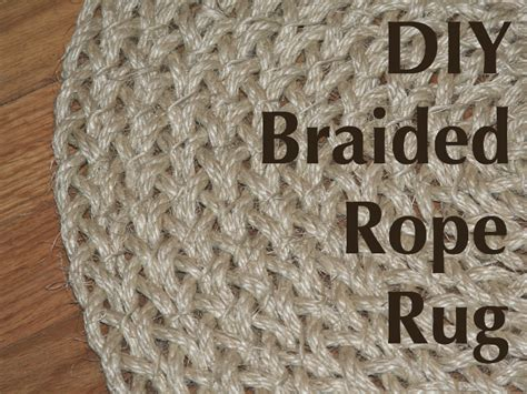 Rope Rug by Salvaged Home Braided Rope Rug
