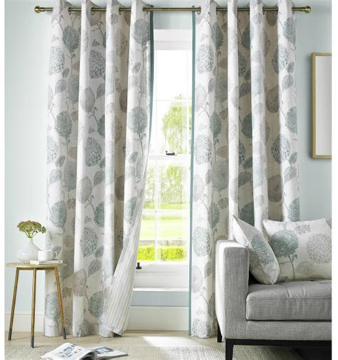floral duck egg curtains avril curtains duck egg floral ready made curtains 46 66